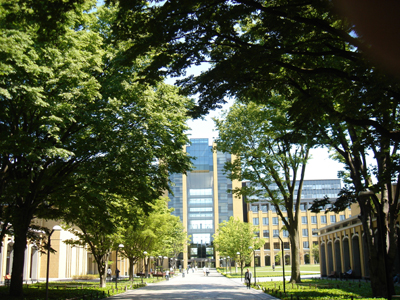 青山学院大学 相模原キャンパス プロムナード&B棟メディアセンター